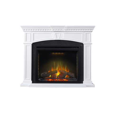 Napoleon Taylor Electric Fireplace Mantel Package in White - NEFP33-0214W