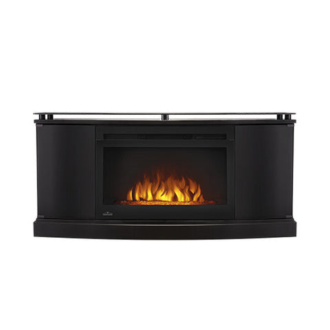 Napoleon Anya Electric Fireplace Media Console in Black - NEFP27-3116B