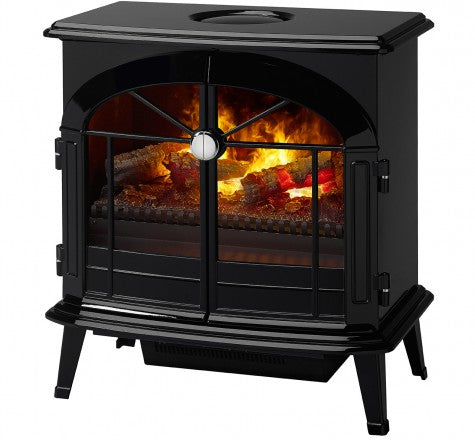 Dimplex Stockbridge Opti-Myst Electric Fireplace Stove w/ Remote Control - OS2527GB