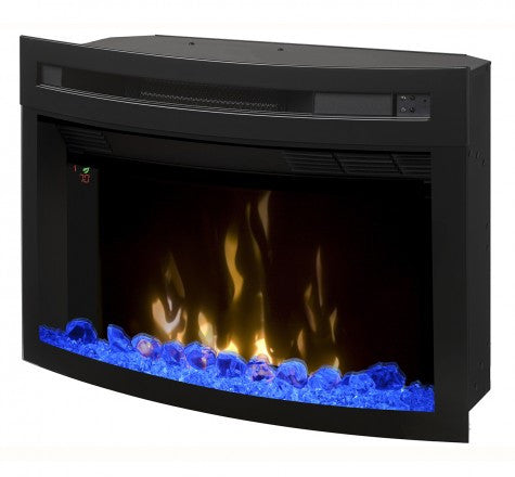 "Dimplex 25"" Multi-Fire XD Curved Contemporary Electric Fireplace Insert - PF2325CG"