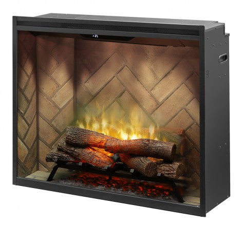 "Dimplex 36"" Portrait Revillusion Built-In Traditional Electric Fireplace - RBF36P"
