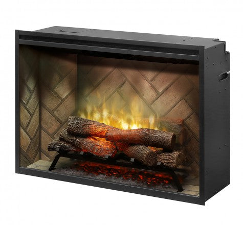 "Dimplex 36"" Revillusion Built-In Traditional Electric Fireplace - RBF36"
