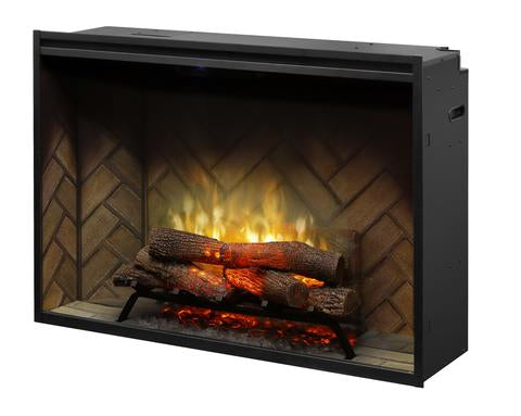 "Dimplex 42"" Revillusion Built-In Traditional Electric Fireplace - RBF42"