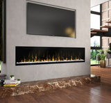 "Dimplex IgniteXL 74"" Linear Wall Mount Electric Fireplace - XLF74"