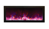 SIMPLY ELECTRIC FIREPLACES ONLINE AMANTII BI-DEEP PANORAMA WALL MOUNTED ELECTRIC FIREPLACE