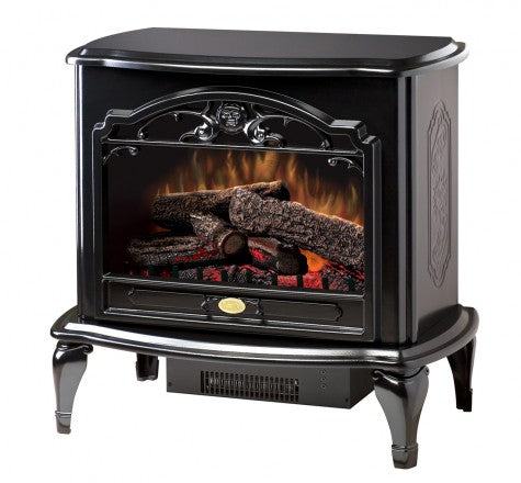 Dimplex Celeste Black Electric Fireplace Stove with Remote Control - TDS8515TB