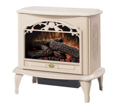 Dimplex Celeste Cream Electric Fireplace Stove with Remote Control - TDS8515TC