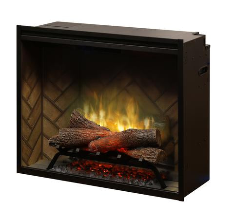 "Dimplex 30"" Revillusion Built-In Traditional Electric Fireplace - RBF30"