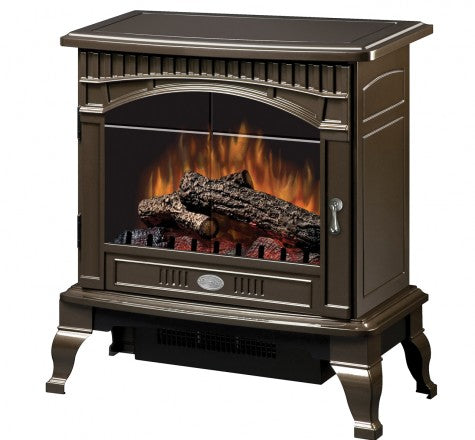 Dimplex Lincoln Bronze Electric Fireplace Stove with Remote Control - DS5629BR