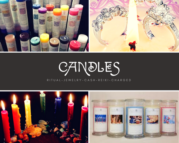 Magical Candles and Candle Collections