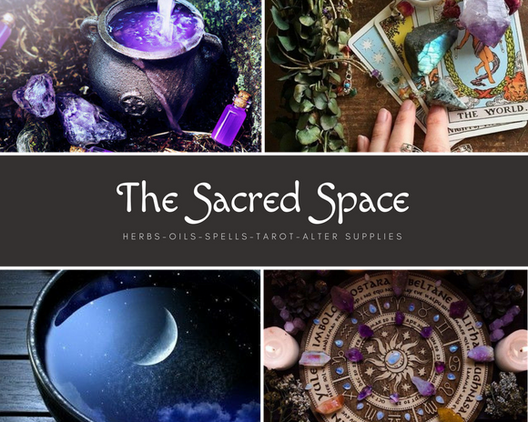 Sacred Space Altar, Spellcasting, & Magical supplies