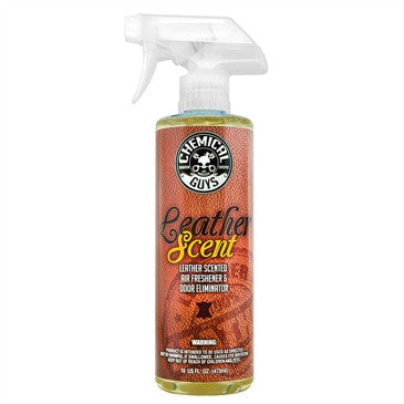 Chemical Guys Leather Scent Premium Air Freshener & Odor Eliminator 473ml - AIR_102_16