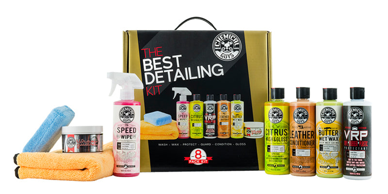 Chemical Guys The Best Detailing Kit (8 Pack) - Jooji