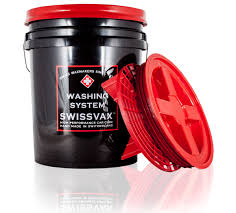 FANTASTIC OFFER! Swissvax Bucket 5 Gallon with grit guard and lid (RRP £39.99)