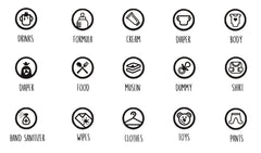 Thorsbrenner Icons for navigation