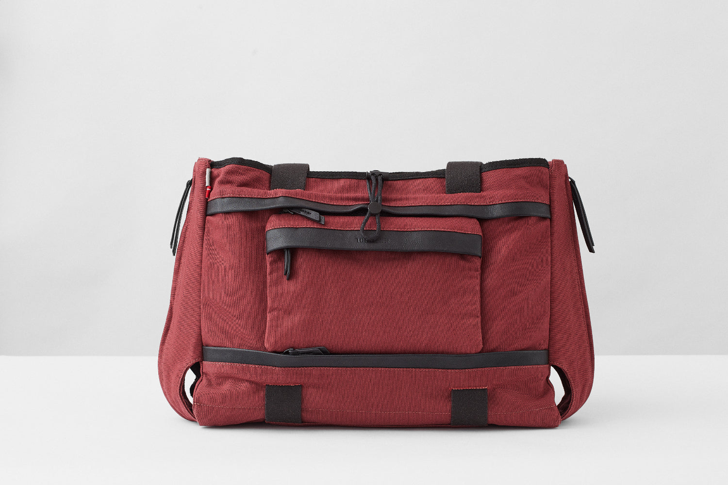 """All in One"" Thorsbrenner Baby Changing Bag - Burgundy Red"