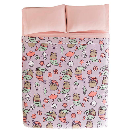 Cobertor Ligero Pusheen Mermaid