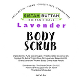 Sistah Buttah Botanicals Brown Sugar Body Scrub