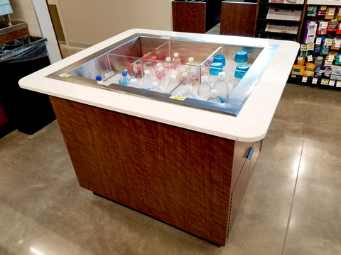 Marco mobile ice fixture for albertson's go