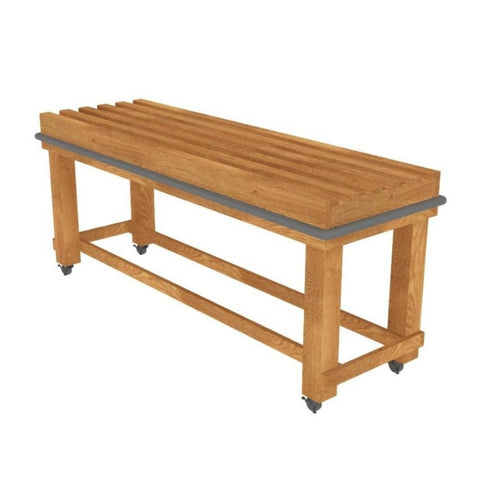 Rectangular Oak Flat Top Table