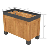 Orchard Bins | Produce Display | The Marco Company - OBP-36X18X27