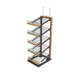 Bakery Display Shelving and Cases - 11944 O BV