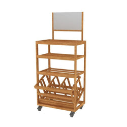 Bakery Display Shelving - BAK-598 OAK