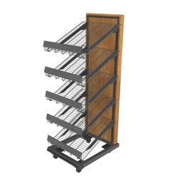 Bakery Rolling Rack with Shelves