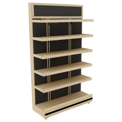 Bakery Display Shelving - BAK-662 OAK