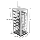 Bakery Display Shelving and Cases - BAK-710 ACV CH