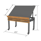 Produce Euro Table - MET06 OSQ4836BK