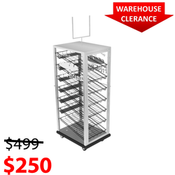 BAKERY DISPLAY CASE-Bakery Display Shelving-BAK-710 ACV CH