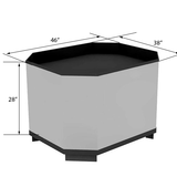 Produce Display Bin<br>BOX-TWALL