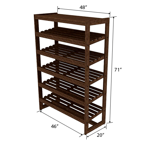 Bakery Display Shelving - BAK-422 #2 O