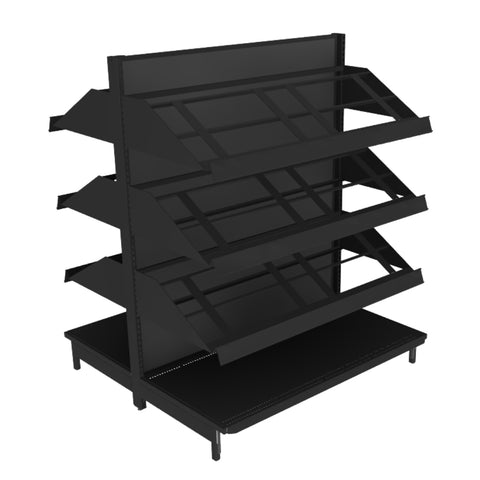 Produce Display Shelving | Retail Display - DRY-SHF LOW01