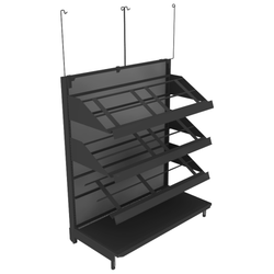Produce Display Shelving - DRY-SHF LOW04