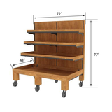 Produce Display Shelving<br>ET-406 #9