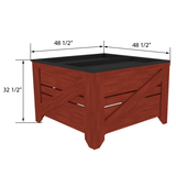 Orchard Bins | Produce Display | The Marco Company-VEG-OBA-P