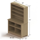 Bakery Display Shelving and Cases - ANTIQUE-CAB K M