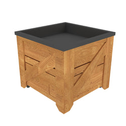 Traditional Pine Ice Table Orchard Bin--2 Sizes Available