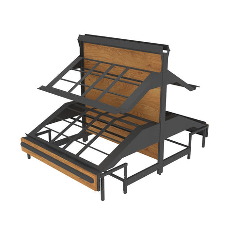 Starter Gondola with 4 Shelves