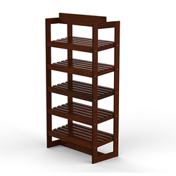 Bakery Display Shelving and Cases - BAK-413 OAK