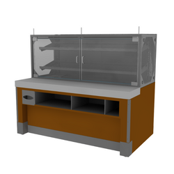Packaged Bakery Display - Bakery Display Shelving-BAK-1227