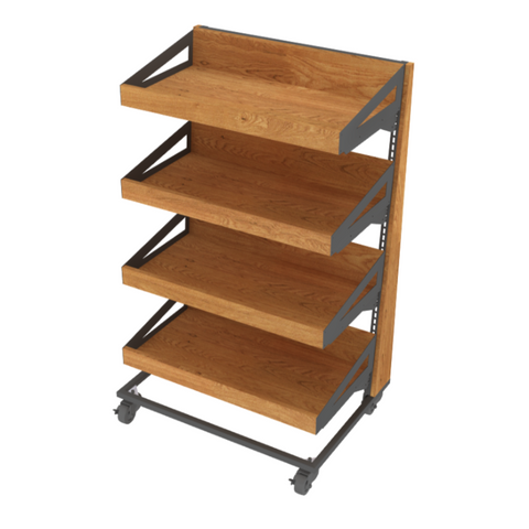 Bakery Display Shelving and Cases - GE-31090 OSB