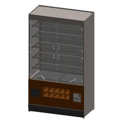 Packaged Bakery Display - Bakery Display Shelving-BAK-1283