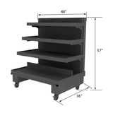 Produce Display Shelving<br>EC-102 OBK