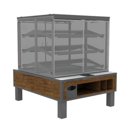 PACKAGED BAKERY DISPLAY BAK-1335-Bakery Display Shelving