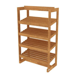 Oak Upright Bakery Unit with Four Tilt Shelves