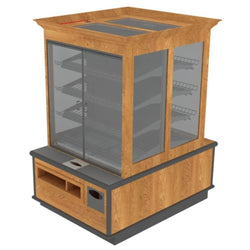 Packaged Bakery Display - Bakery Display Shelving-BAK-1362