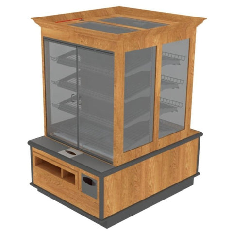 packaged bakery display | Bakery Display | The Marco Company-BAK-1362